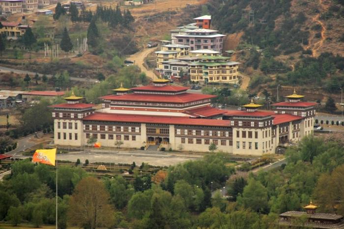 d Tashichhoe Dzong
