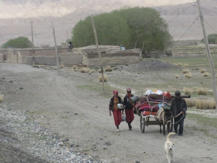 A Nomadic Tajik family