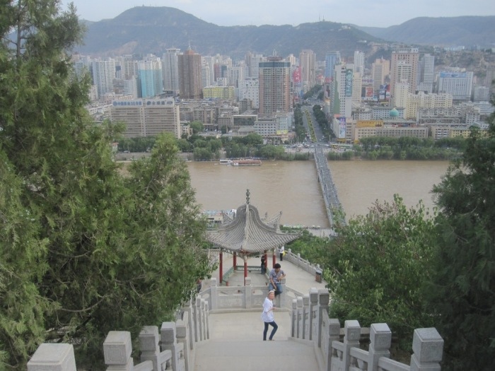 The Yellow river is brown - Lanzhou