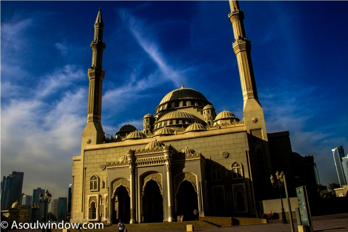 Offbeat Al Noor Mosque Sharjah Dubai