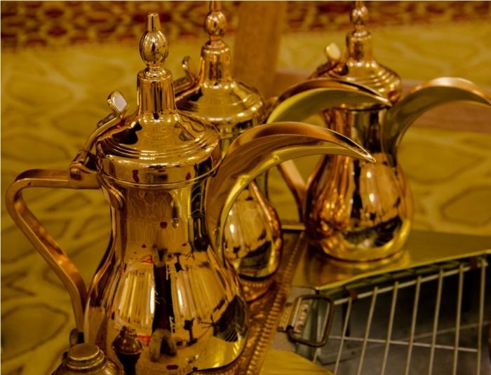 Traditional vessel. Al Noor Mosque Sharjah Dubai