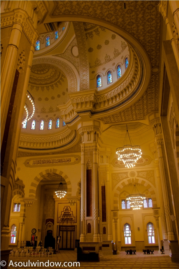 Turkish Al Noor Mosque Sharjah Dubai