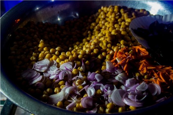 Chana. STreet food. India Sri Lanka Vegan Food