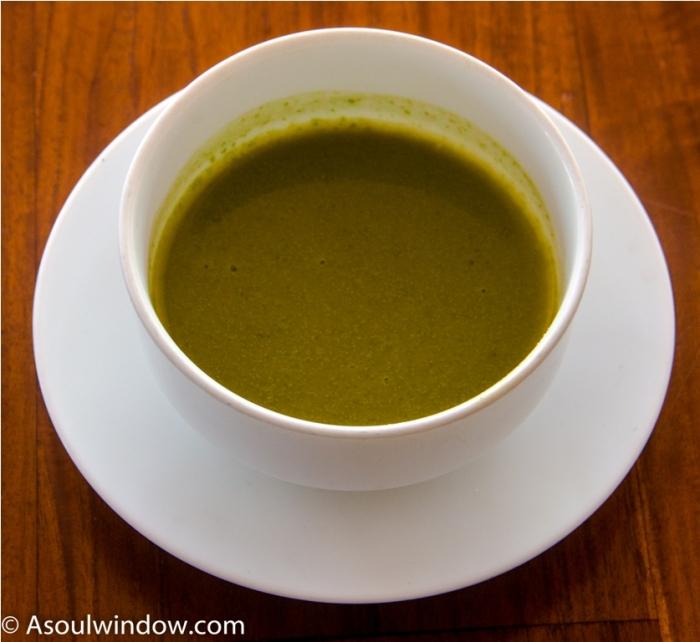 Kola Kanda, Mukunuwenna herbal soup. India Sri Lanka Vegan Food