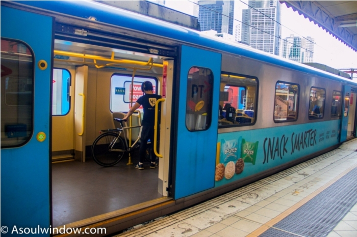 Metro train Melbourne