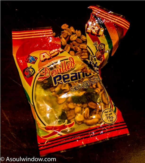 Peanuts. India Sri Lanka Vegan Food
