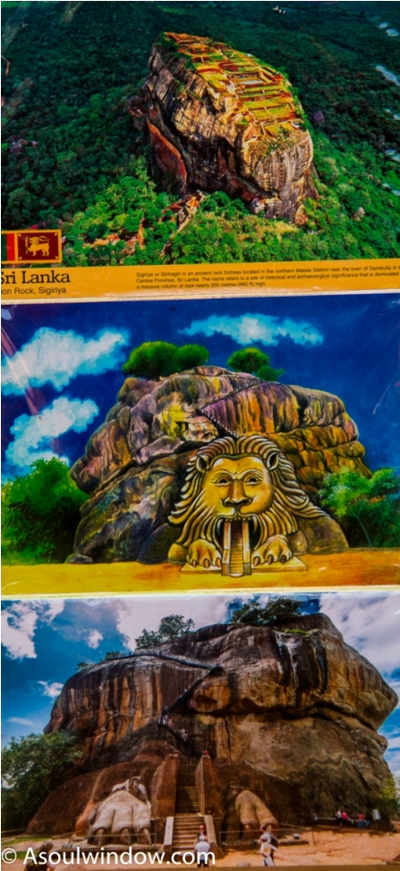 Postcards at Sigiriya. Sri Lanka Shopping Guide (2)