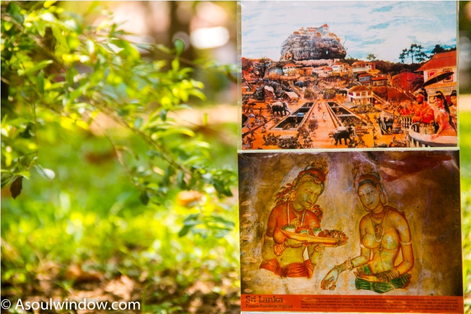 Postcards at Sigiriya. Sri Lanka Shopping Guide
