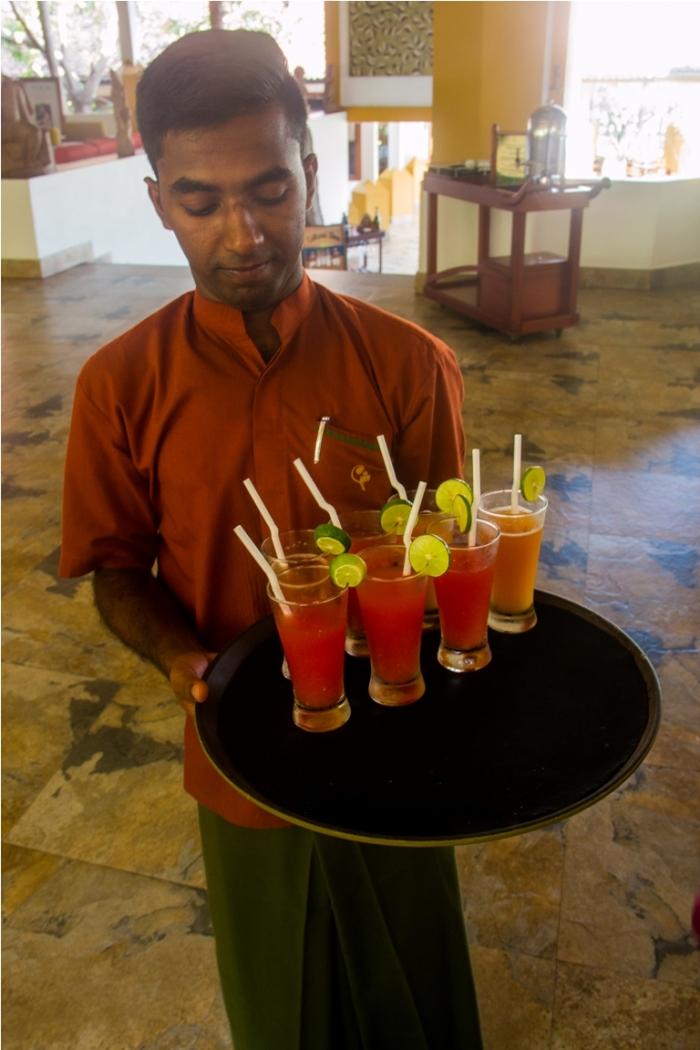 Wood apple juice. Bel sherbat. India Sri Lanka Vegan Food