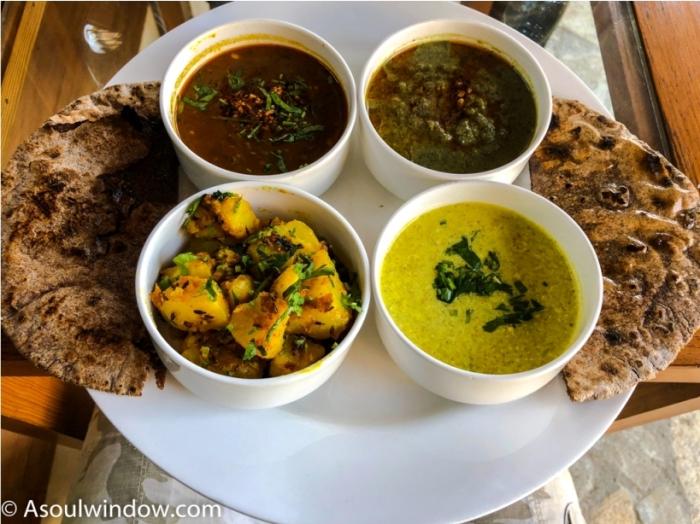 Anant Rasa, Shitlakhet, Uttarakhand Food Maduwe Ki Roti. Bhat Ki Dal