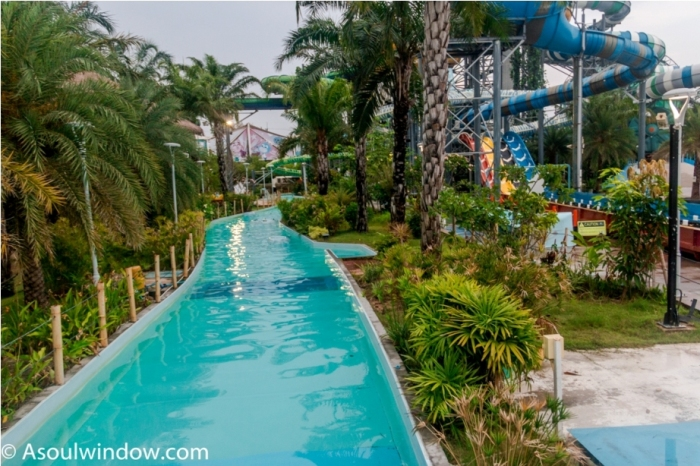 Ride Cartoon Network Amazone Water Park, Pattaya Thailand