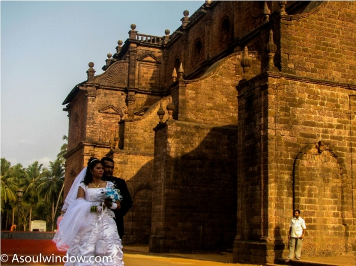Basilica of Bom Jesus Old Goa India