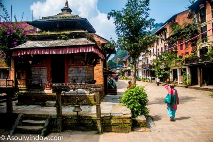 Hindu Temple. Heritage area of Offbeat Bandipur, Nepal (2)