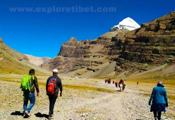Kailasha Mansarovar Tibet trek around kailash2