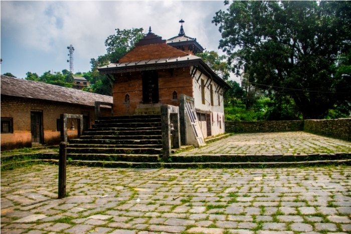 Khadga Devi Hindu Temple. Heritage area of Offbeat Bandipur, Nepal