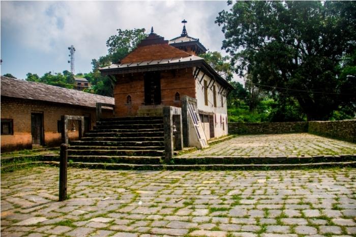 Khadga Devi Hindu Temple. Heritage area of Offbeat Bandipur, Nepal