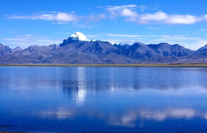 Mount Kailasha in winter Kailash Mansarovara Trek Tibet