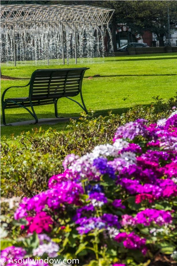 Parliamanet Gardens Fountain Coles Melbourne Australia