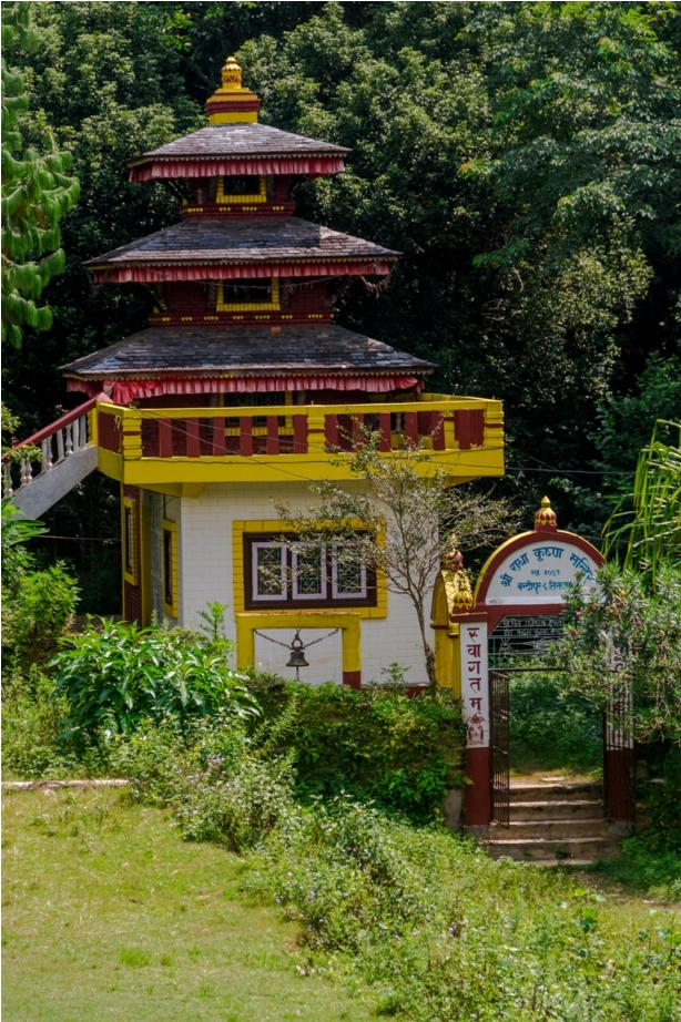 Teendhara Heritage area of Offbeat Bandipur, Nepal
