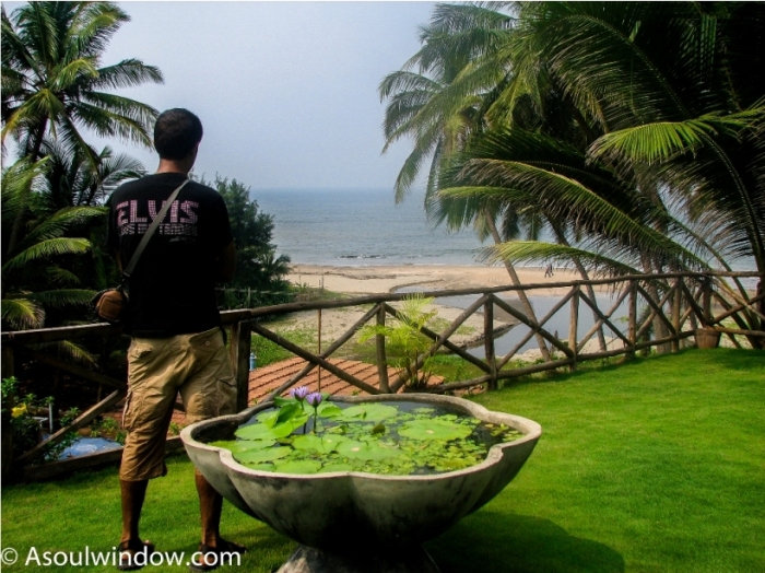 Vagator beach Goa India