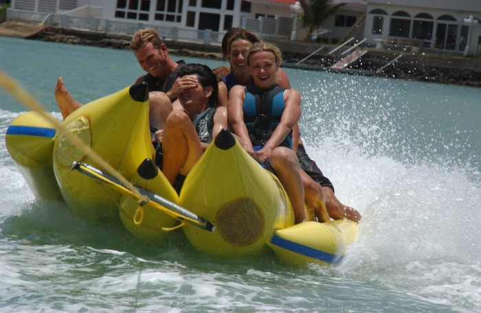 Aamby Valley Banana Boat Ride