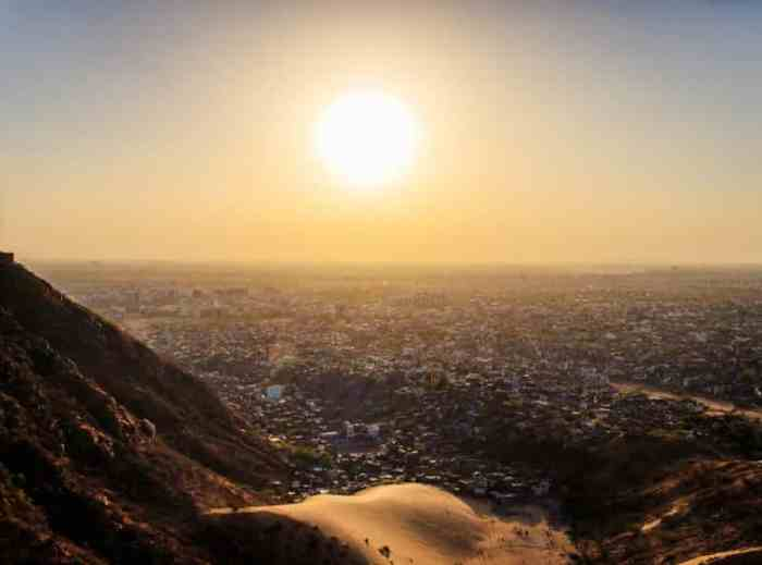 6. Sunset From The Nahargarh Fort