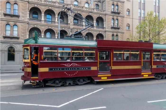 CBD Melbourne Australia Free Tram