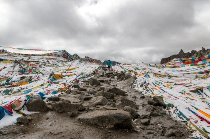 Dolma pass Deraphuk Kailasha Mansarovar Parikrama China Tibet