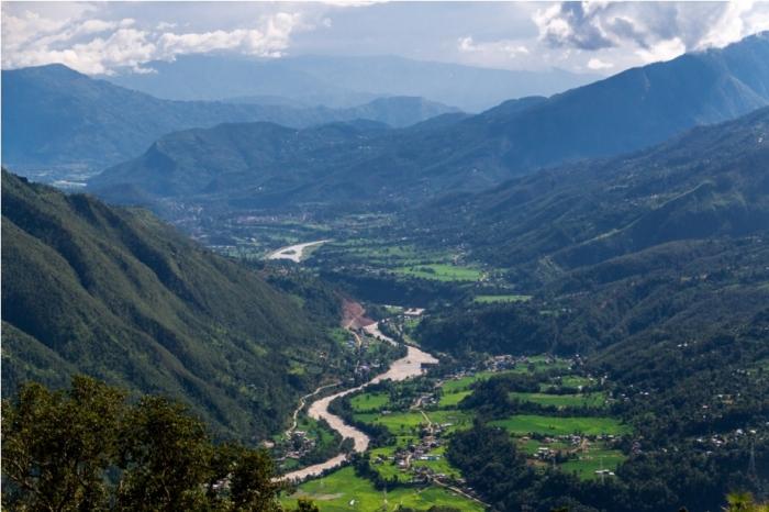 Grang Village Valley Nepal