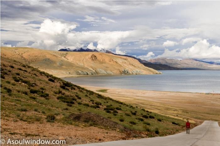 Mansarovar lake Saga China Tibet