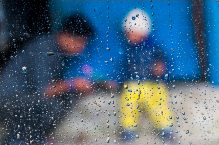 Rain monsoon Nepal