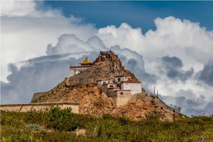 Chiu Gompa Monastery Kailash Mansarovar Yatra Trek China