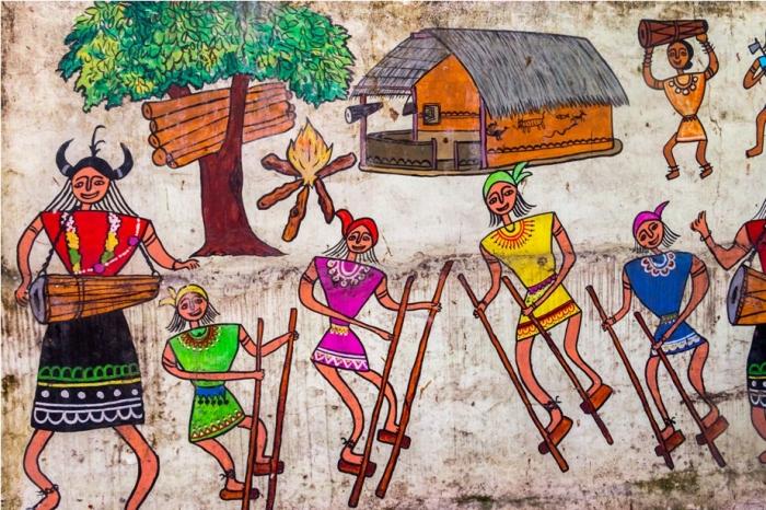 Gadh Kaleva Vegetarian Food Raipur Chattisgarh grafitti