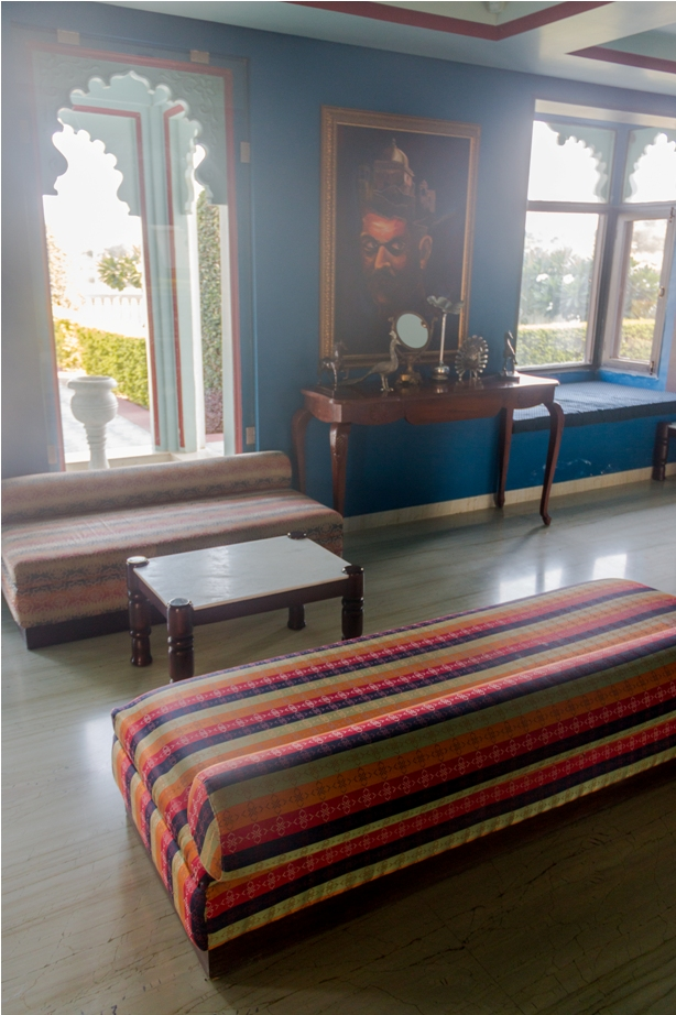 Justa Lake Nahargarh Palace, Chittorgarh Rajasthan India Lobby (3)
