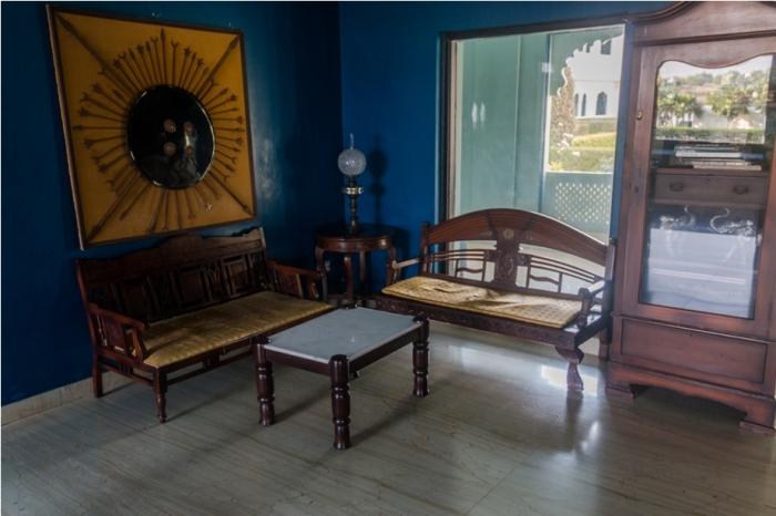 Justa Lake Nahargarh Palace, Chittorgarh Rajasthan India Lobby