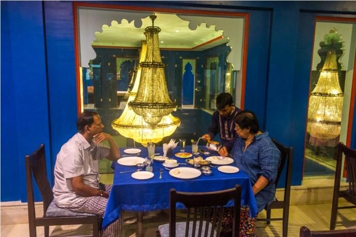 Justa Lake Nahargarh Palace, Chittorgarh Rajasthan India Restaurant