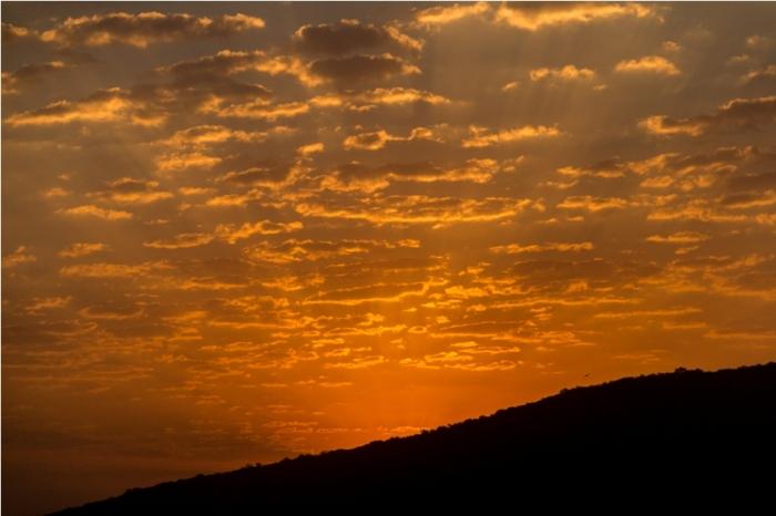Justa Lake Nahargarh Palace, Chittorgarh Rajasthan India sunrise