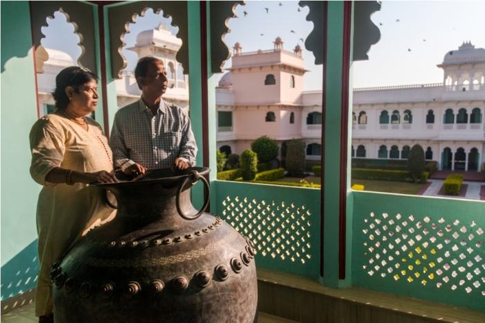 Justa Lake Nahargarh Palace, Chittorgarh Rajasthan India