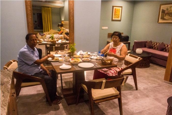 Justa Sajjangarh Resort Hotel Udaipur Food