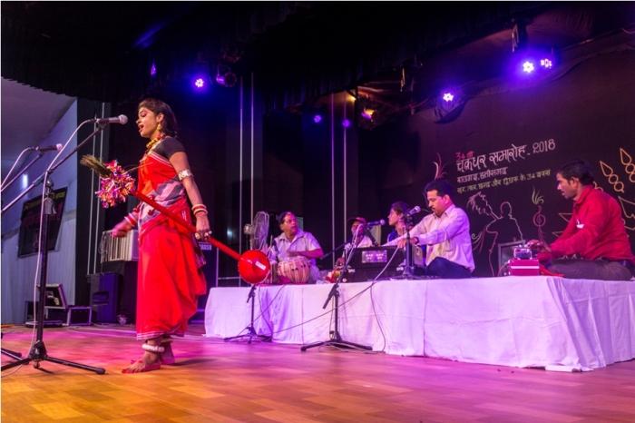 Pandvani Rashni Verma Teejan Bai Chakradhar Samaroh Raipur Raigarh Chattisgarh (3)