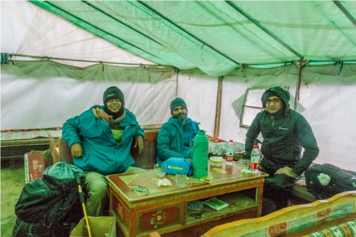 Kailash Mansarovar Yatra Kyirong China Madhuban Foods tea house