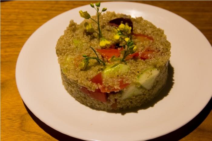 Quinoa salad Kailash Mansarovar Yatra Kyirong China Madhuban Foods