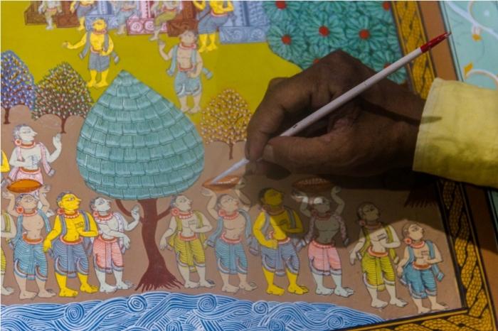 Raghurajpur Heritage Village Pattachitra Puri Odisha (19)