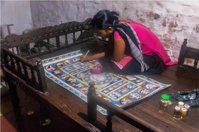 Raghurajpur Heritage Village Pattachitra Puri Odisha Sabita Behera