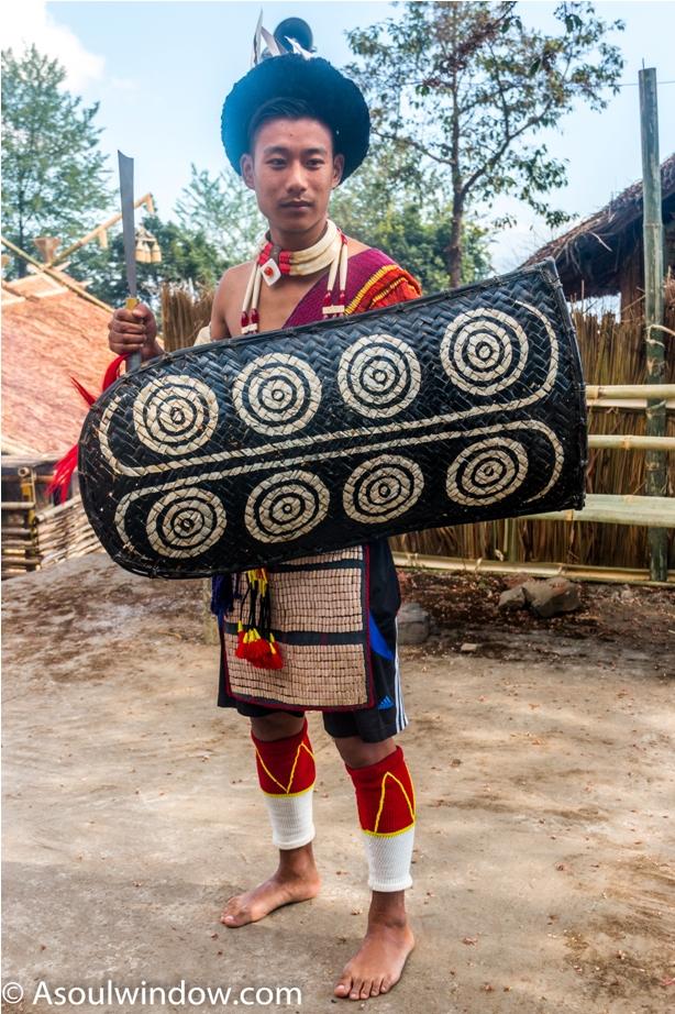Ao Morung Naga Hornbill festival Nagaland India