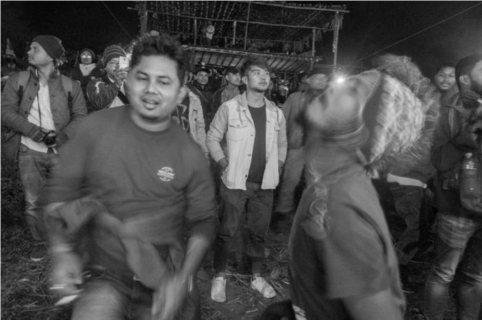 Audience Orange music festival Dambuk Arunachal Pradesh India (2)