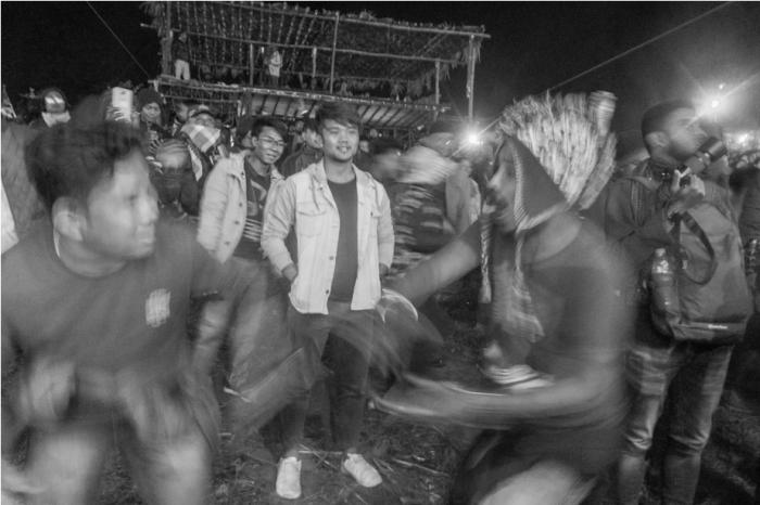 Audience Orange music festival Dambuk Arunachal Pradesh India