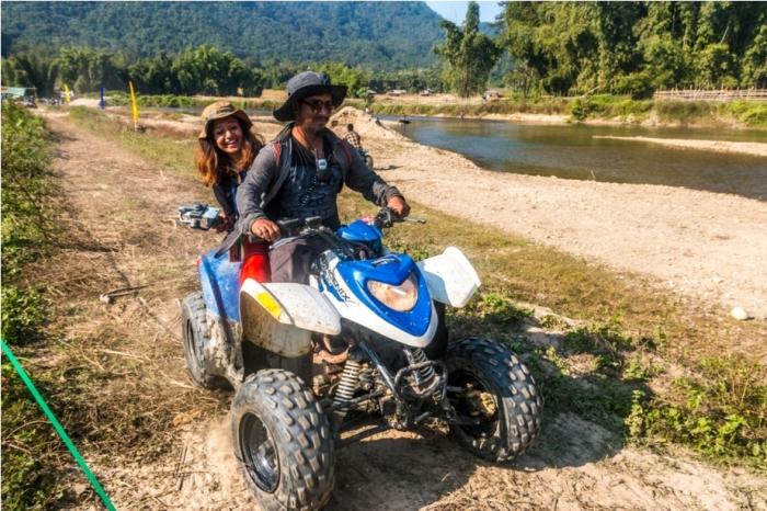 Basar Confluence Bas Con Arunachal Pradesh India ATV Adventure