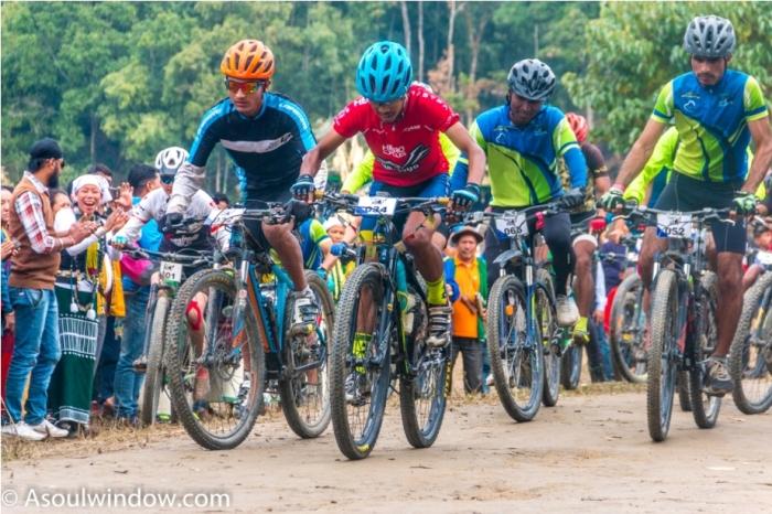 Basar Confluence Bas Con Arunachal Pradesh India Cycling