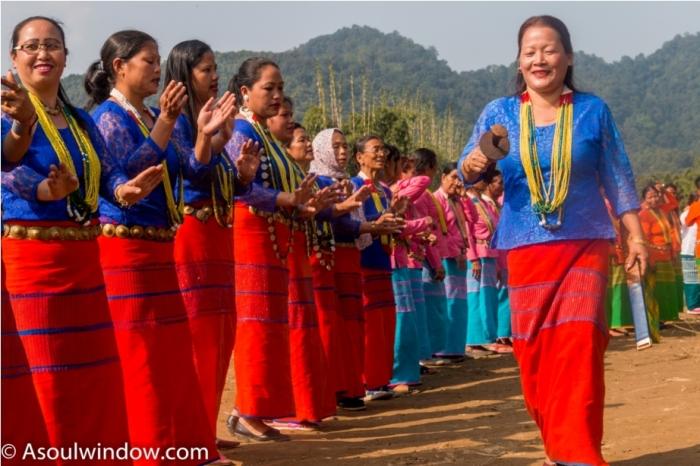 Basar Confluence Bas Con Arunachal Pradesh India Galo Folk Song